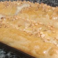 Empanada de pollo estilo Akelarre