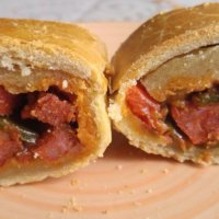 Empanada de chorizo estilo Akelarre