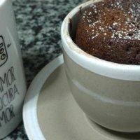 Mug cake, o bizcocho en una taza