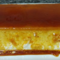 Falso flan de queso y yogur